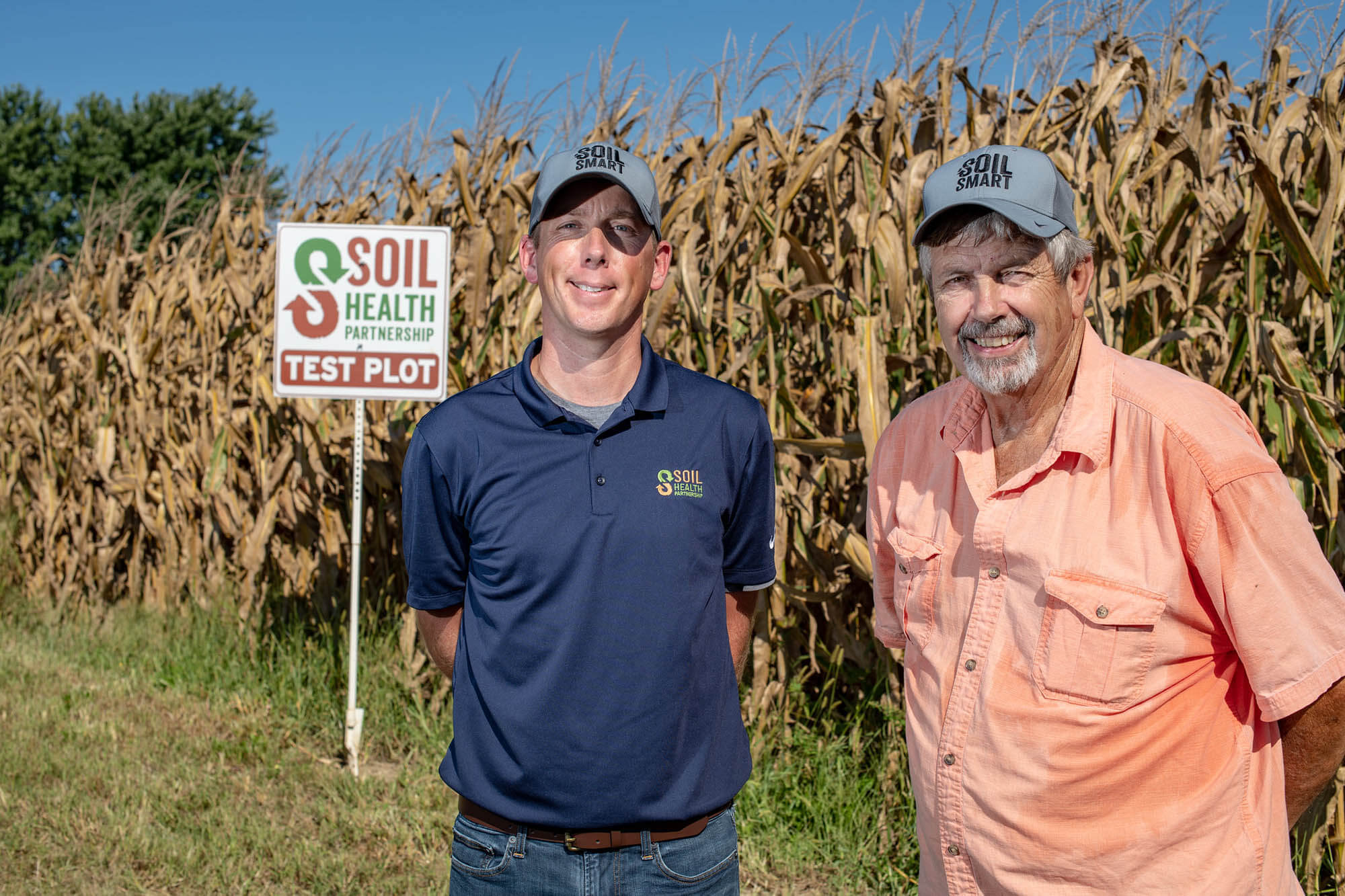 SHP Central & Southern Indiana Field Manager John Stewart and Mike Buis